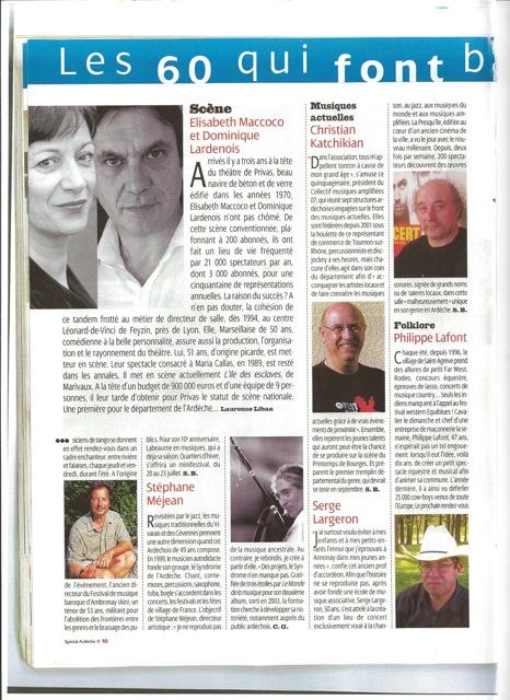 L'express mai 2006
